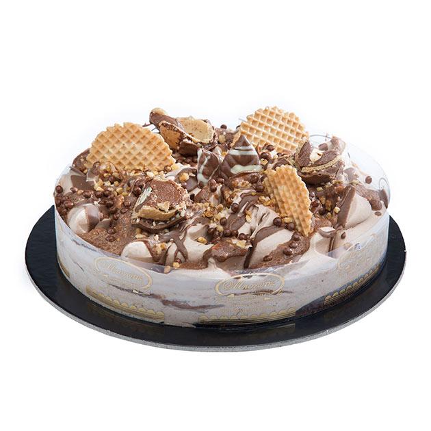 Ice Cream Cake Ferrero Rocher | Desserts | Bochotis Patisserie in Corfu