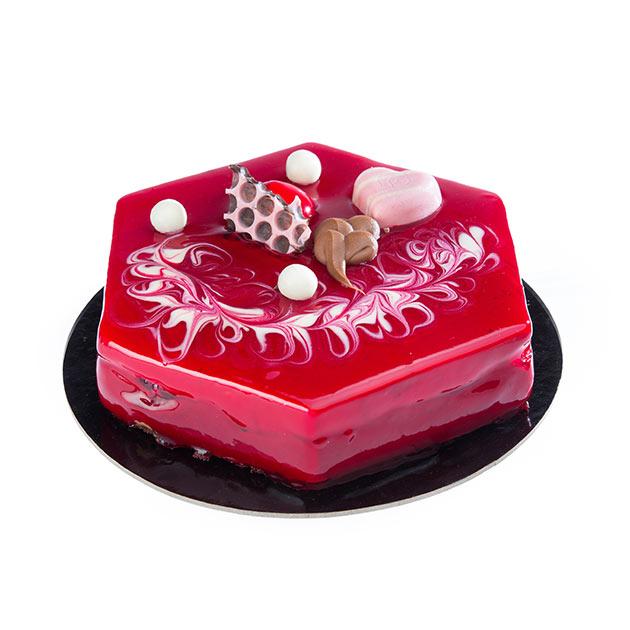 Black Cherry Cake | Desserts | Bochotis Patisserie in Corfu